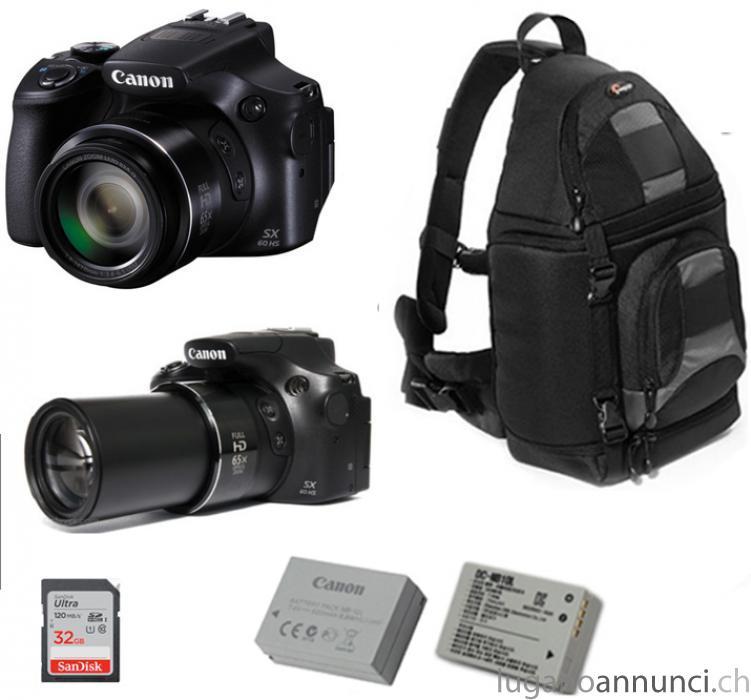 Fotocamera Canon Powershot sx60 + Borsa FOTIMA FotocameraCanonPowershotsx60BorsaFOTIMA.jpg
