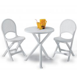 Sedie Plastica Giardino Economiche.Set Brio 2 Sedie 1 Tavolo In Resina Lugano Annunci