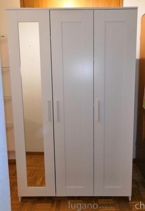 Armadio Ikea Brimnes 2 Ante.Armadio Ikea Da Ritirare Entro Aprile Lugano Annunci