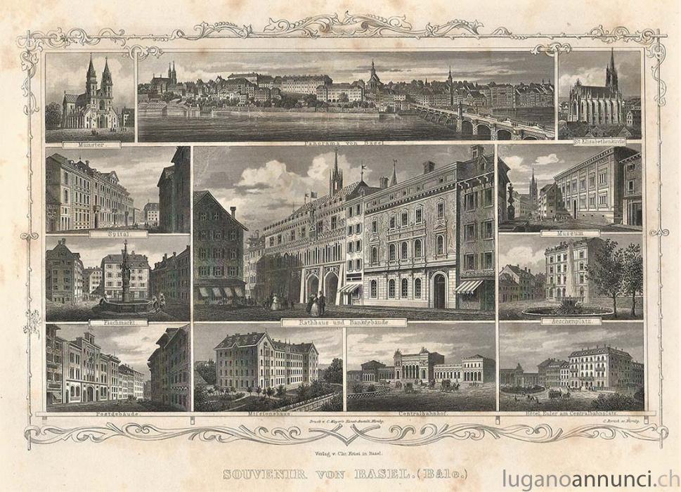 SOUVENIR VON BASEL - Antica incisione originale SOUVENIRVONBASELAnticaincisioneoriginale.jpg