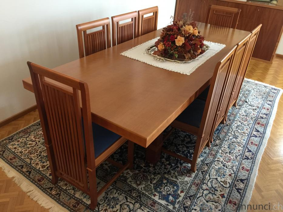 Tavolo e sedie Cassina - Design Frank Lloyd Wright TavoloesedieCassinaDesignFrankLloydWright.jpg