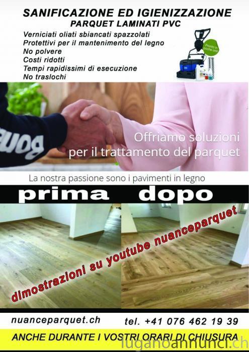 Igienizzazione E Sanificazione Parquet Laminati Pvc Lugano Annunci
