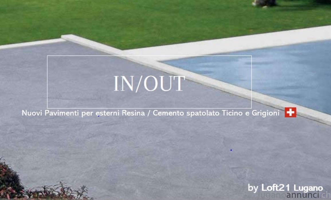 Resine Per Terrazze Esterne pavimenti resina o micro cemento x terrazzi e balconi