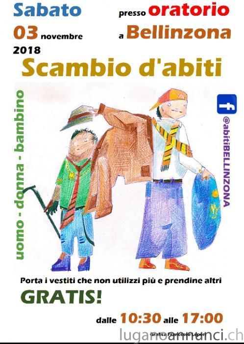 Scambio Abiti - 3 novembre - Bellinzona ScambioAbiti3novembreBellinzona.jpg