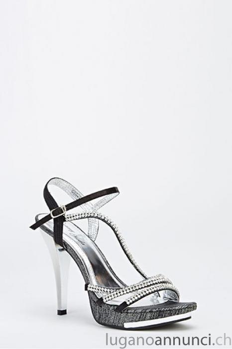 Sexy sandaletti con strass neri - taglia 39 Sexysandaletticonstrassneritaglia39.jpg