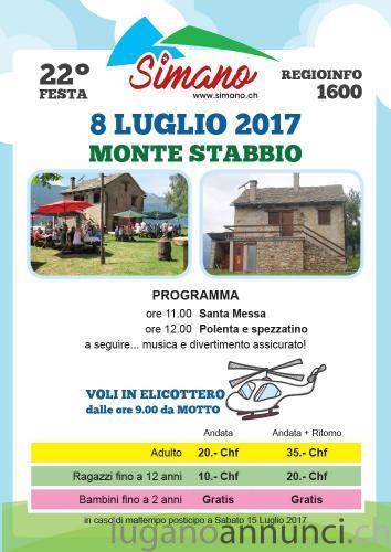 FESTA MONTE STABBIO (organizzata dall'associazione amici del Simano) FESTAMONTESTABBIOorganizzatadallassociazioneamicidelSimano.jpg