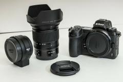 Nikon Z6 24.5MP  Kit con adattatore NIKKOR Z 24-70mm F / 4 S e FTZ