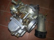 Carburatore e Forcella Yamaka 125