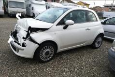 regalo Fiat 500 danneggiato