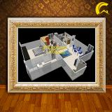 #504cloucasa Appartamento in villino pentafamiliare Aprilia- Fossignano