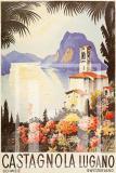 Manifesto Castagnola lago di Lugano