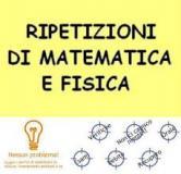 LEZIONI ON LINE DI MATEMATICA , FISICA , CHIMICA