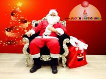 Consegna doni Babbo Natale a domicilio Lugano Locarno Mendrisio