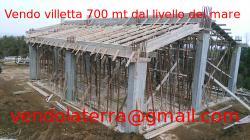 Vendo villetta 200m², su un livello, nuova costruzione, documenti in regola, cir