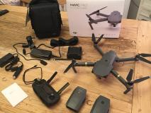 DJI Mavic Pro More Fly Combo 4K (con scatola) x3 batterie + lame e borsa + extra