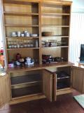 Vendo mobile artigianale in legno pregiato e massiccio
