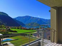 Nuovo trilocale con piscina e vista lago Colico - Lago di Como