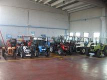 Ricambi per trattori, escavatori e macchinari edili