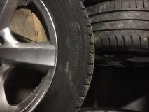 Cerchioni in lega e pneumatici estivi...