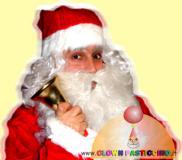 Babbo Natale a domicilio per consegna...