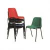 Milena - sedia ufficio impilabile in metallo e polipropilene