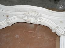 Camino marmo bianco