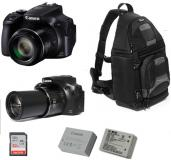 Fotocamera Canon Powershot sx60 + Borsa FOTIMA