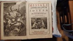 Antico messale in rito Ambrosiano