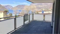 Appartamenti da 2.5 locali a Capolago, parziale vista lago