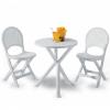 Set BRIO 2 sedie + 1 tavolo in resina