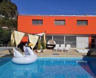 illa moderna con piscina,2 saune,2 jacuzzi a Figino-Lugano