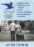 Trasporto anziani a domicilio