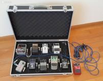 Pedali effetti: BOSS, MXR, Electro-Harmonix, Line 6