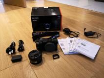 Obiettivo zoom Sony A6300 e Sony 16-50