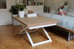Tavolino trasformabile Calligaris Magic-J wood