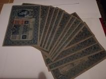Cartamoneta TAUSEND Corone 1902