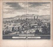 BREMGARTEN en SUISSE - 1714- cm 17,5 x 15,5 Folio