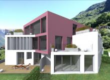 Nuovo progetto di alto standing composto da sette unità abitative a Bellinzona.