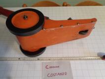Cannone giocattolo in legno