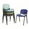 Giove - sedia ufficio impilabile in metallo e polipropilene