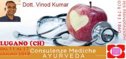 Consulenze Mediche Ayurvediche con il DOTT. Vinod Kumar