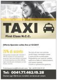 Taxi limousine NCC
