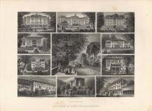 Souvenir von Interlaken - Antica Incisione Originale