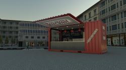 #REDCONTAINER VENDITA DI CAFFE &GELATO