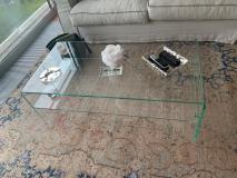 Tavolo salotto vetro