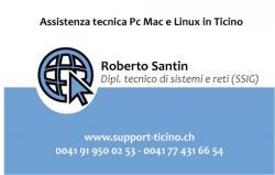 Supporto tecnico informatico in Ticino