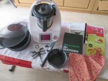 Robot tm5 termomix completo di accessori libri di cucina e cook-key