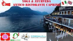 Benessere Yoga & Ayurveda al Ristorante Antico Caprino - Lugano