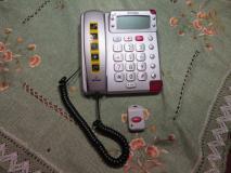 telefono con telecomando di emergenza