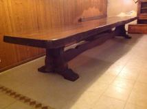 Tavolo in Cedro di 5 metri
